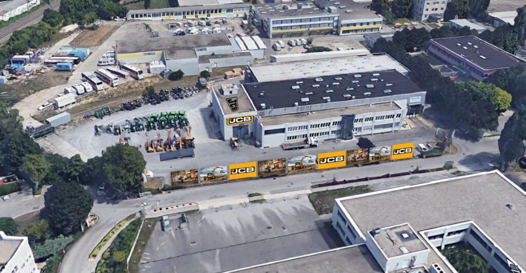 JCB TracTechnik GmbH Zentrale Wien
