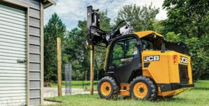 JCB Kompaktlader Powerboom